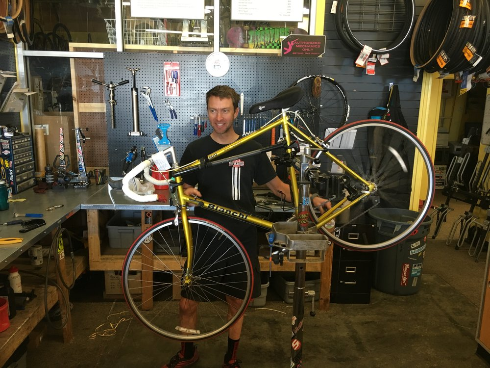 Glenn & bike