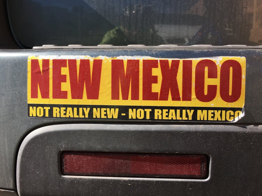New Mexico is an enigma even to residents.