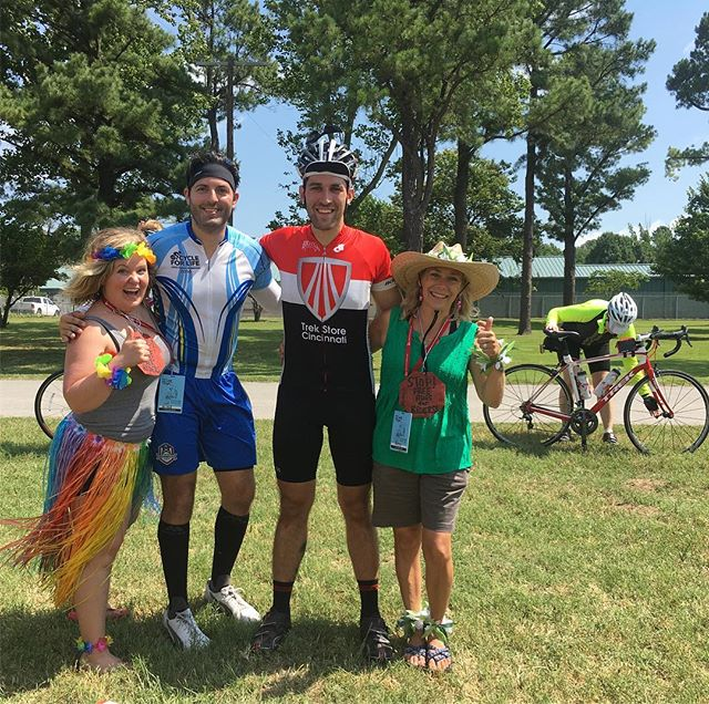 We are Tulsa Tough! 66 miles on Okla. back roads and I didn't get punched. Rest stop culture was 👌-with @dcwaits, @dancepartypatsy
