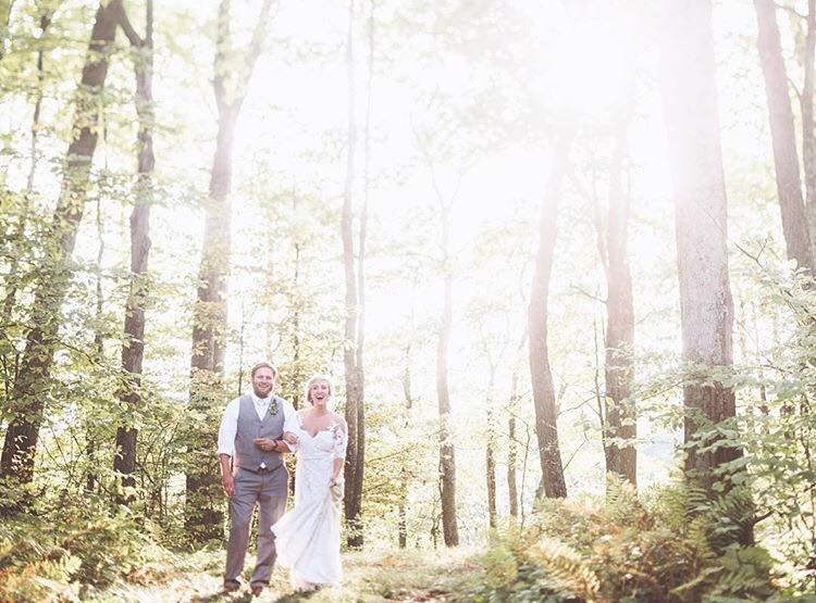 photo courtesy of our wedding photographers and two of my greatest creative influences: Paper Antler