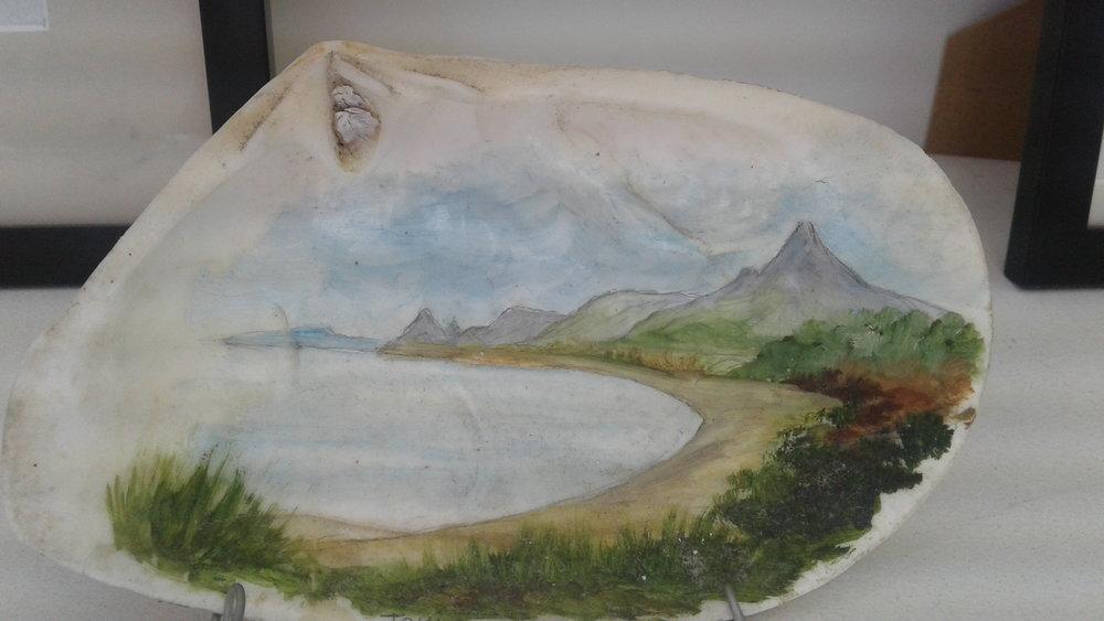 Tokatoka on a Toheroa Shell