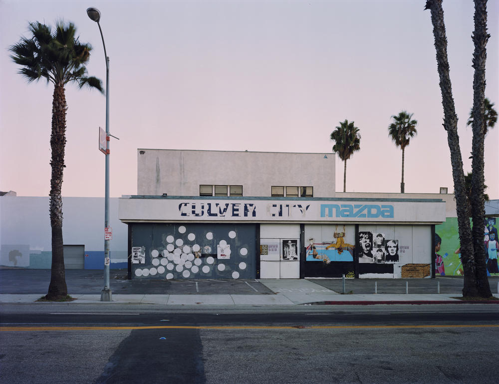 Washington Blvd, Culver City 2012