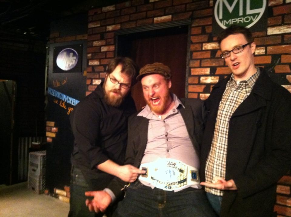Body Types Improv Thunderdome champs, 2013!