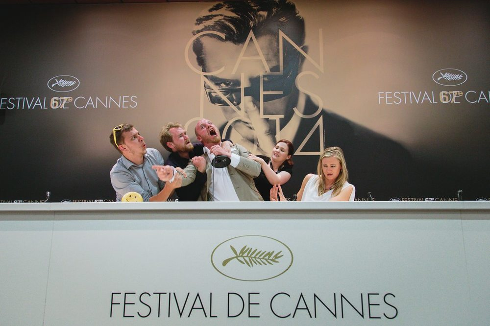 Inside the Cannes Press Conference Room