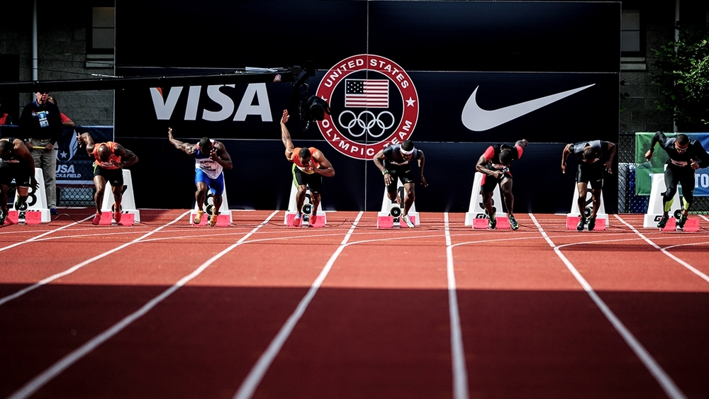 US Olympic Trials 100 meter Final