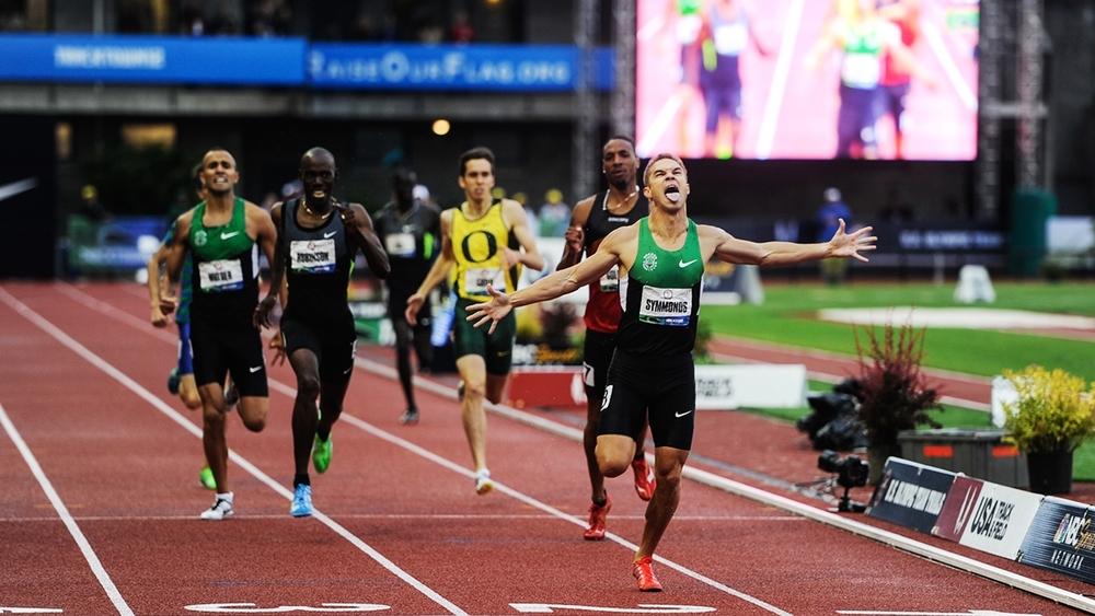 US Olympic Triel 800 meter Final