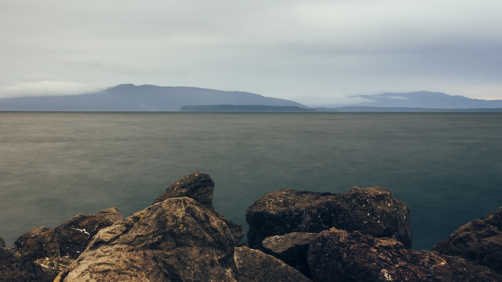 On the Bellingham Bay, Looking at Orca Island