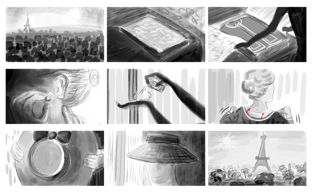 Storyboards by Feli di Giorgio