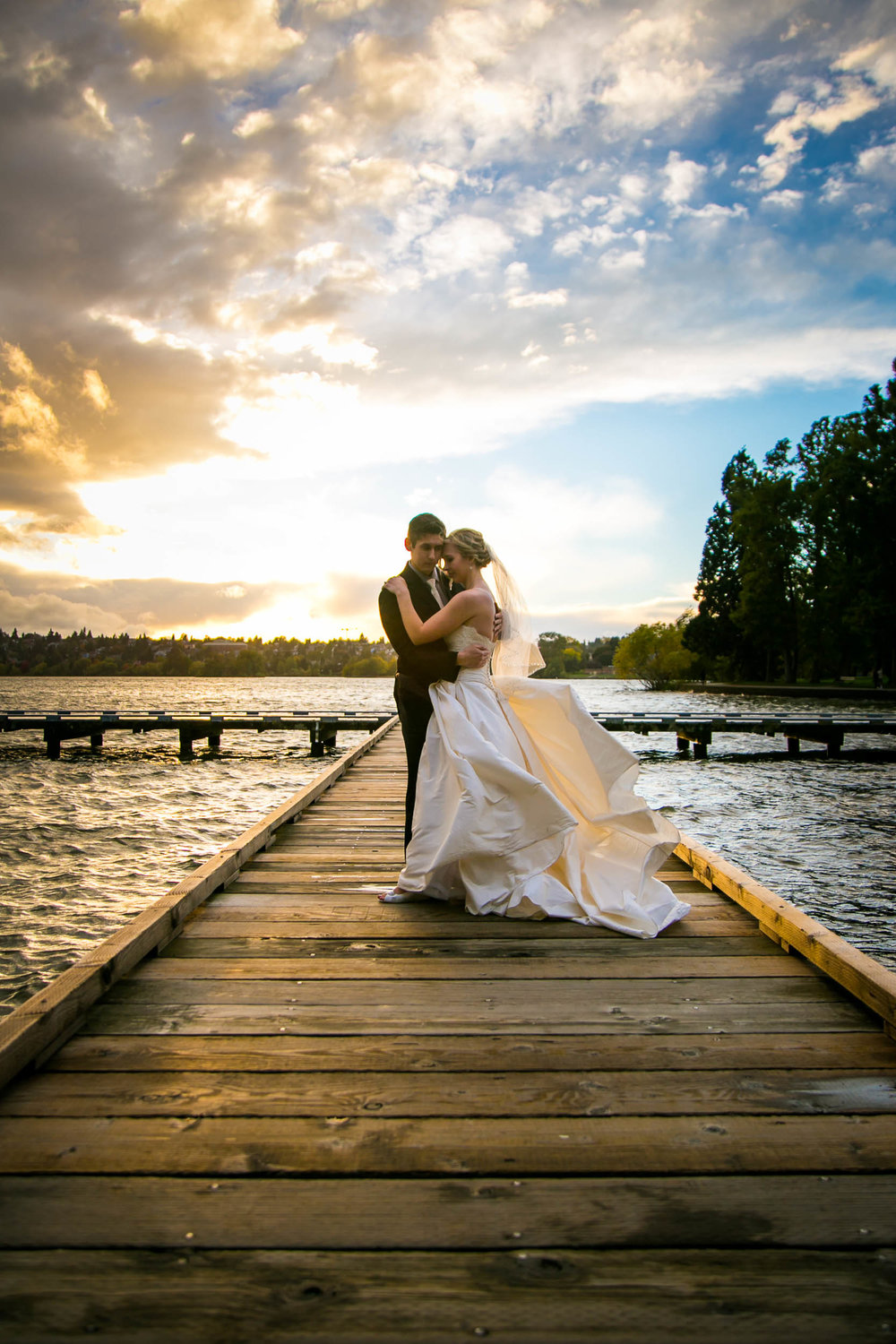 Seattle Community Church Wedding Photography | By G. Lin Photography | Greenlake Park Bridal Photo