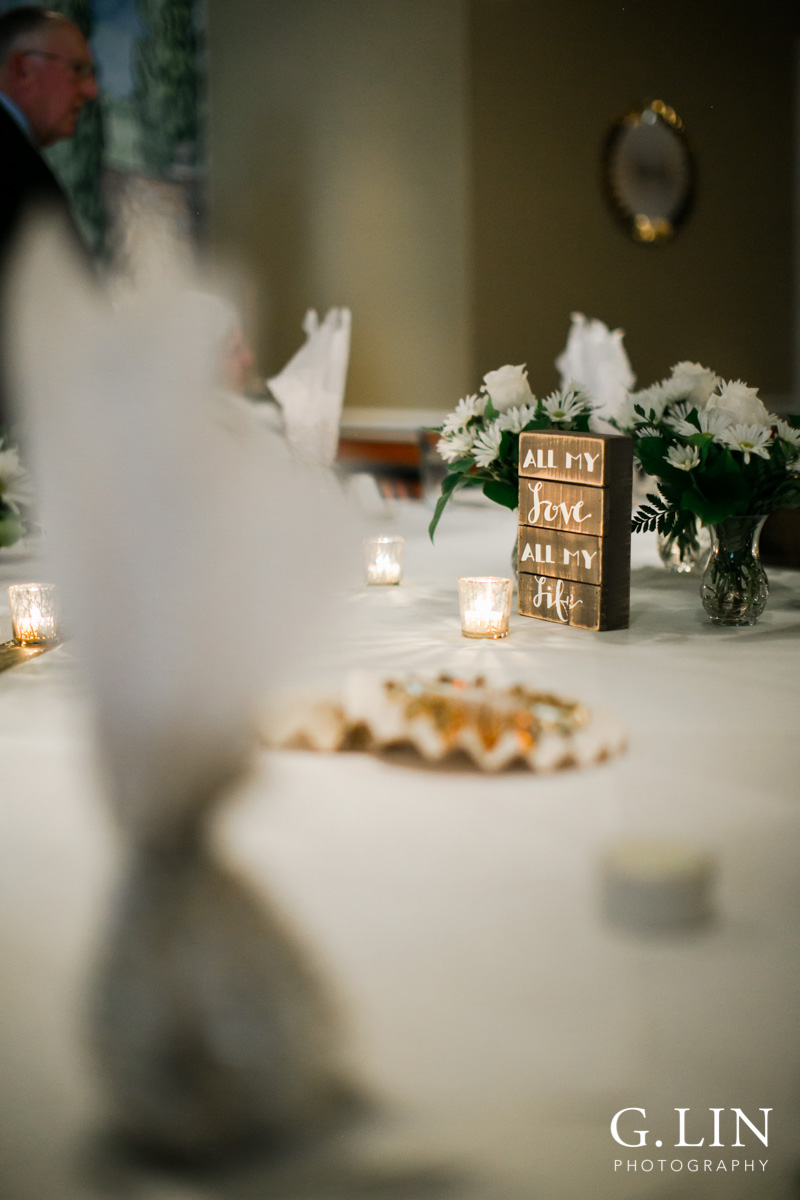 Raleigh Event Photographer | G. Lin Photography | Decorations on table