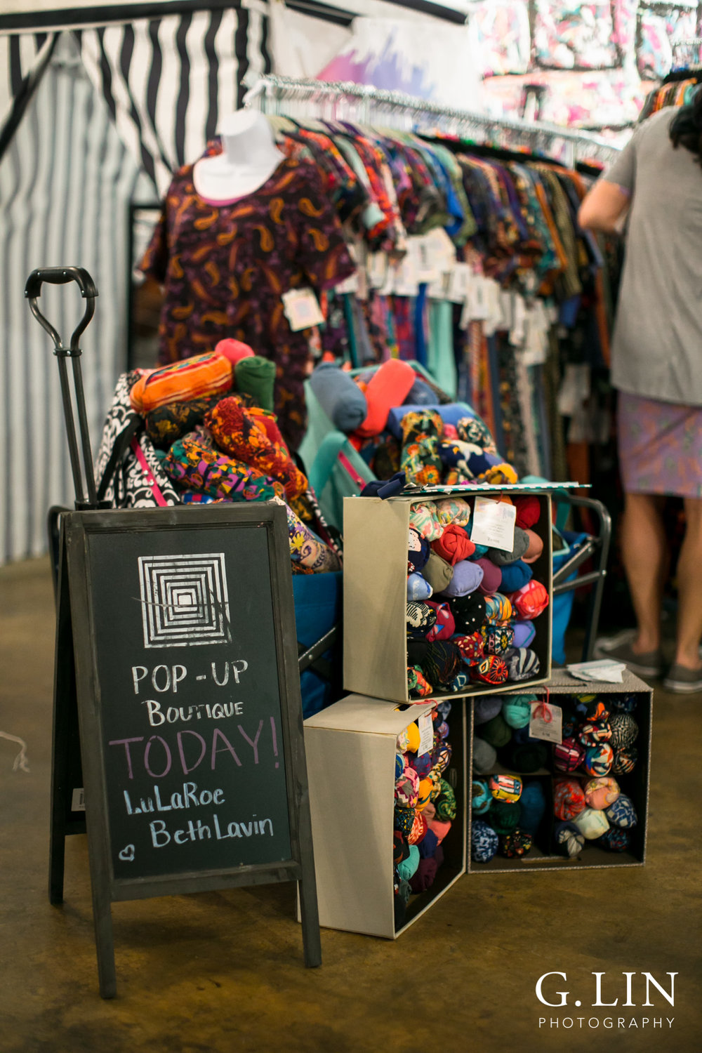Raleigh Event Photographer | G. Lin Photography | Close up of lularoe clothing