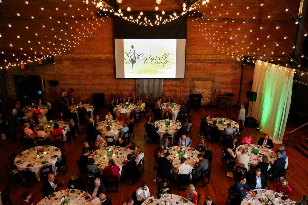 Wide shot of Catwalk to Camp Event | Durham Event Photographer | By G. Lin Photography