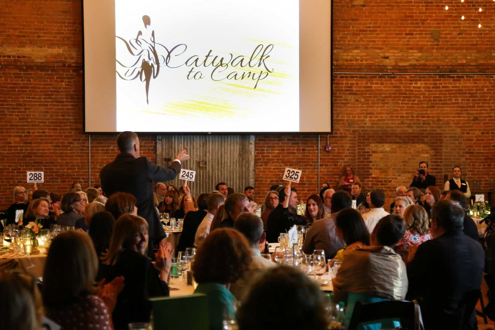 Auction at Autism Society Fundraiser | Durham Photographer | By G. Lin Photography