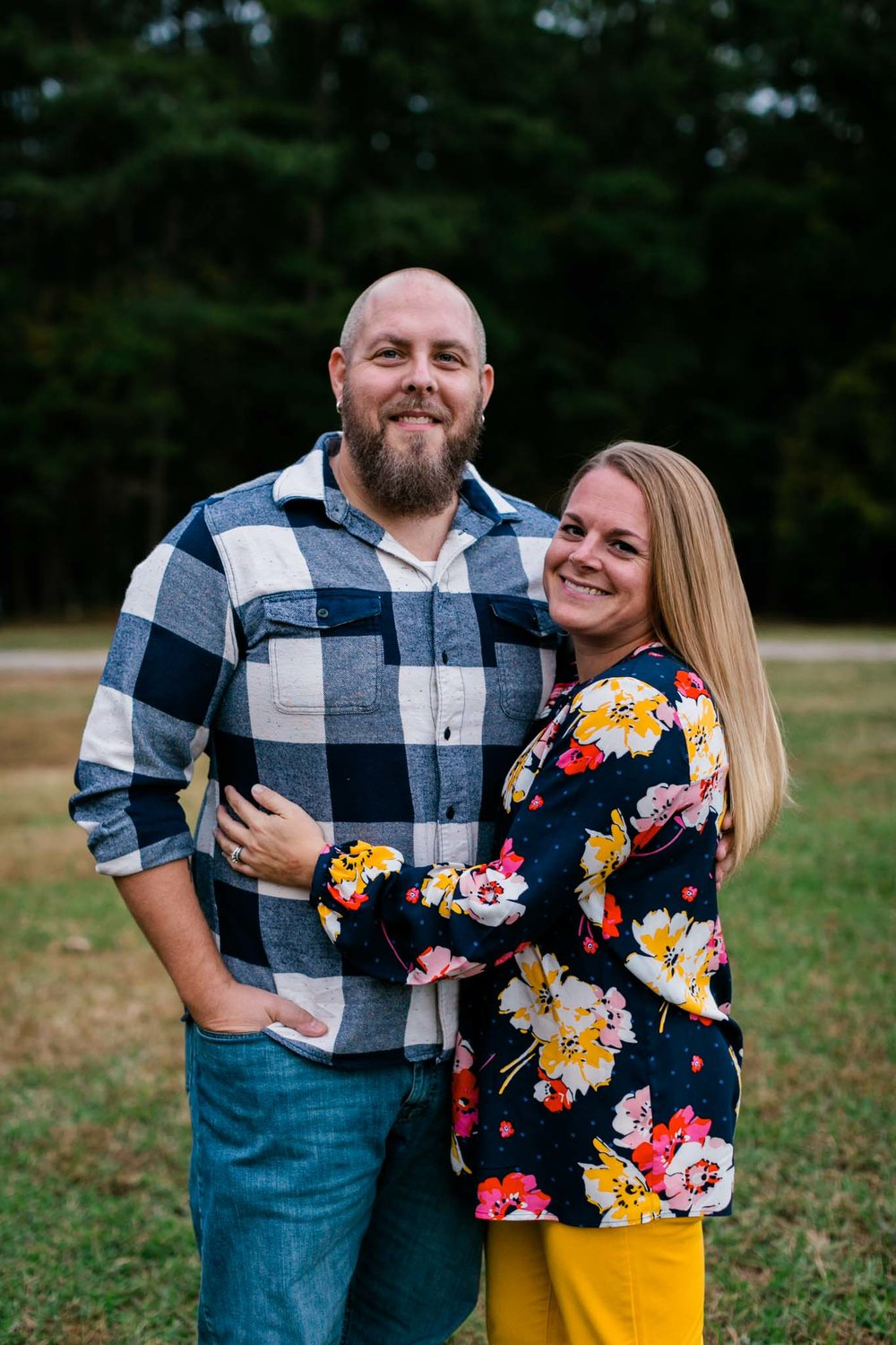 Umstead Park Couple Photo | Raleigh Photographer | By G. Lin Photography