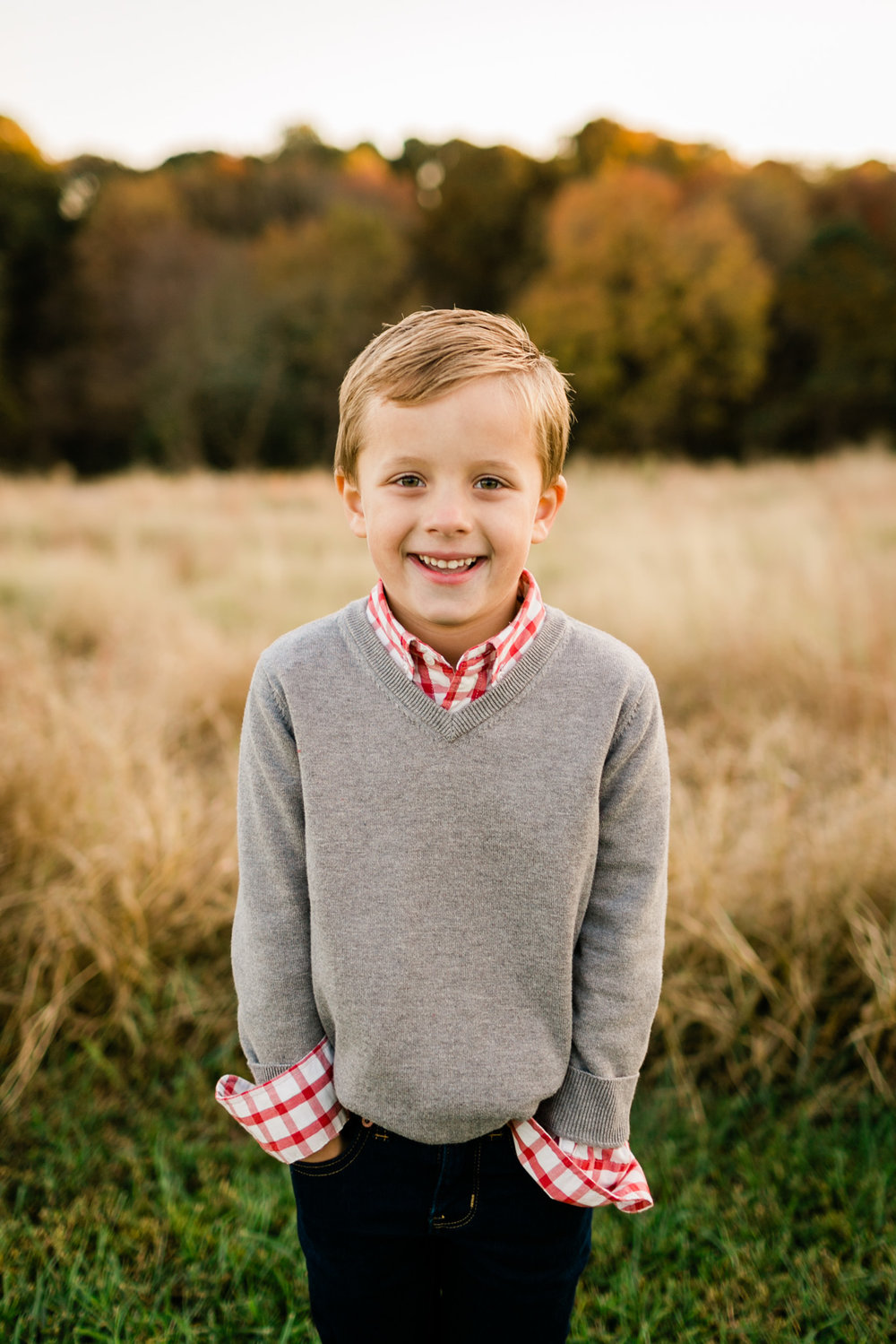 Candid portrait of young boy at NCMA | Raleigh Family Photographer | By G. Lin Photography