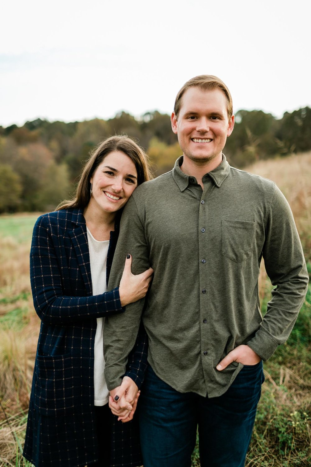 Couple Photo Shoot outdoors at NC Museum of Art | Raleigh Photographer | By G. Lin Photography