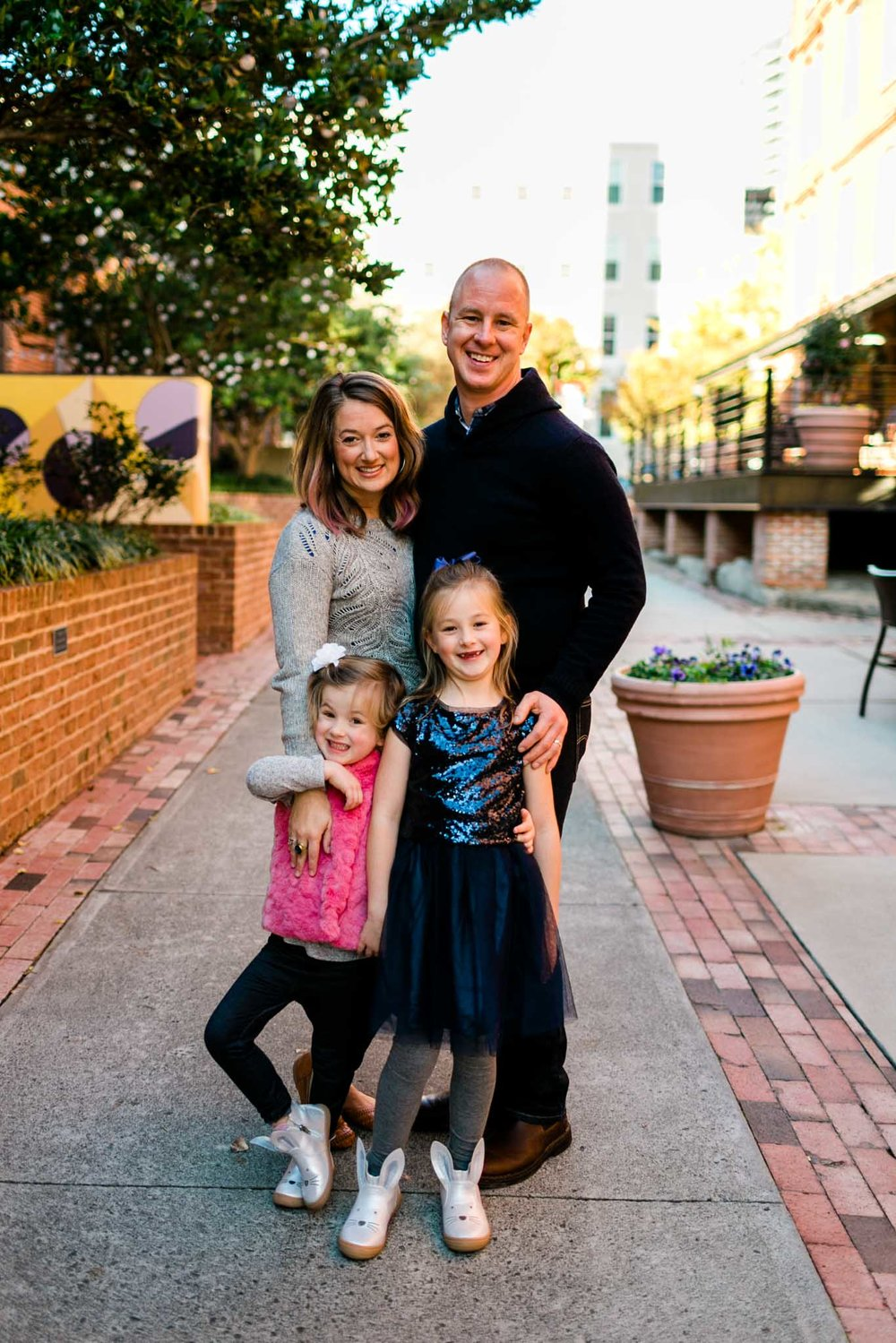 American Tobacco Campus Family Photography | Durham NC | By G. Lin Photography
