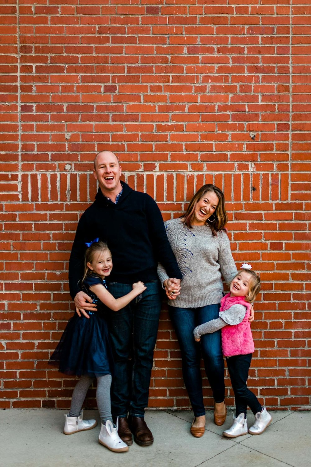 American Tobacco Campus Family Photography | Durham Family Photographer | By G. Lin Photography