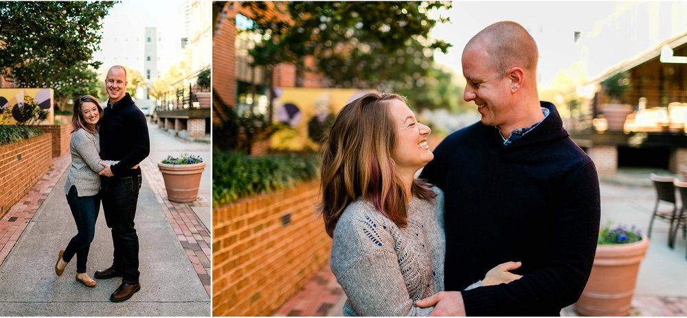 Couple Portrait at the American Tobacco Campus | Durham Family Photographer | By G. Lin Photography