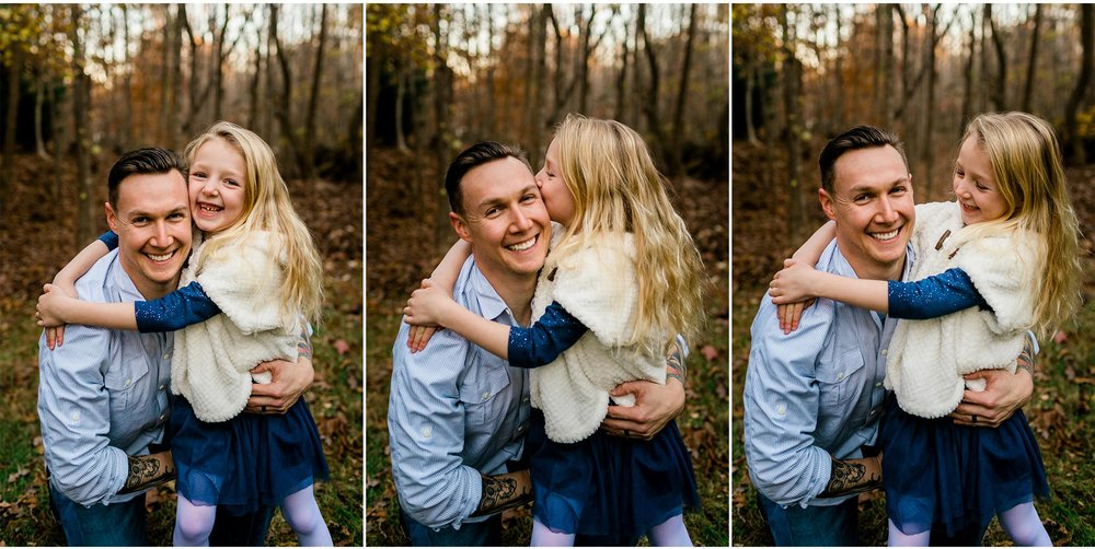 Father and daughter portraits | By G. Lin Photography | Durham Family Photographer