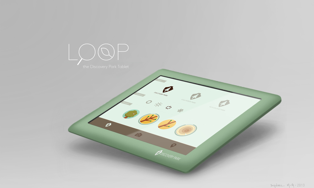 LOOP Tablet for Discovery Park