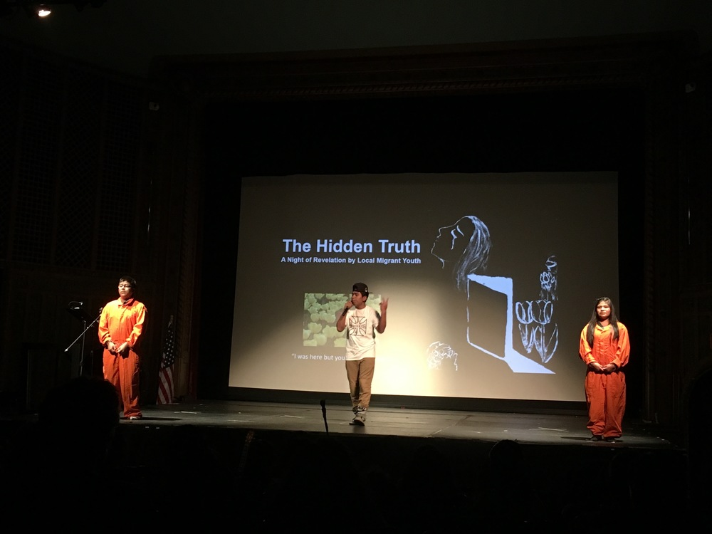 Performance by the Migrant Students Club at the Lincoln Theater in Mount Vernon, WA