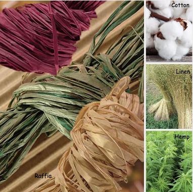 Plant Based - Natural Materials