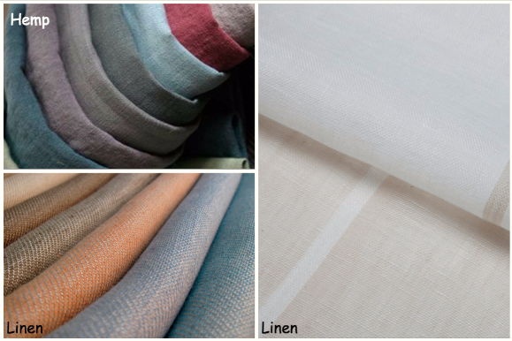 Linen, Hemp - Natural Materials