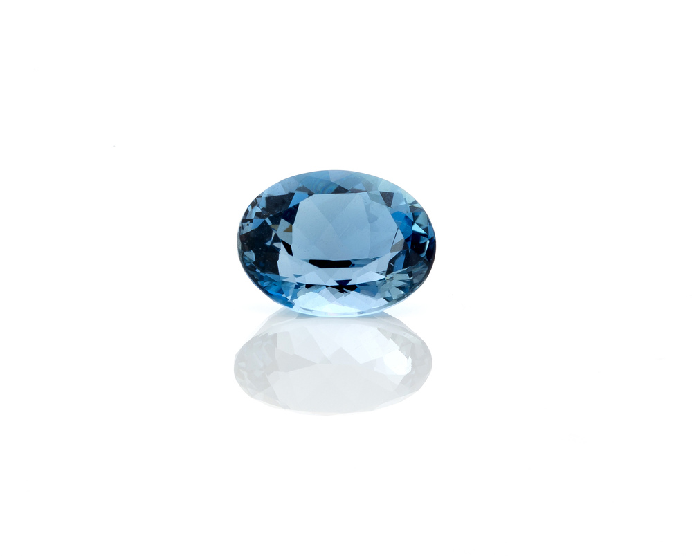 "One of the rarest and most expensive varieties of aquamarine are gemstones with a deeply saturated blue,color beryl known as ""Santa Maria.""  They are named in honor of Santa Maria de Itabira, which is the site in Brazil where the first such stones were discovered in the 1950s."