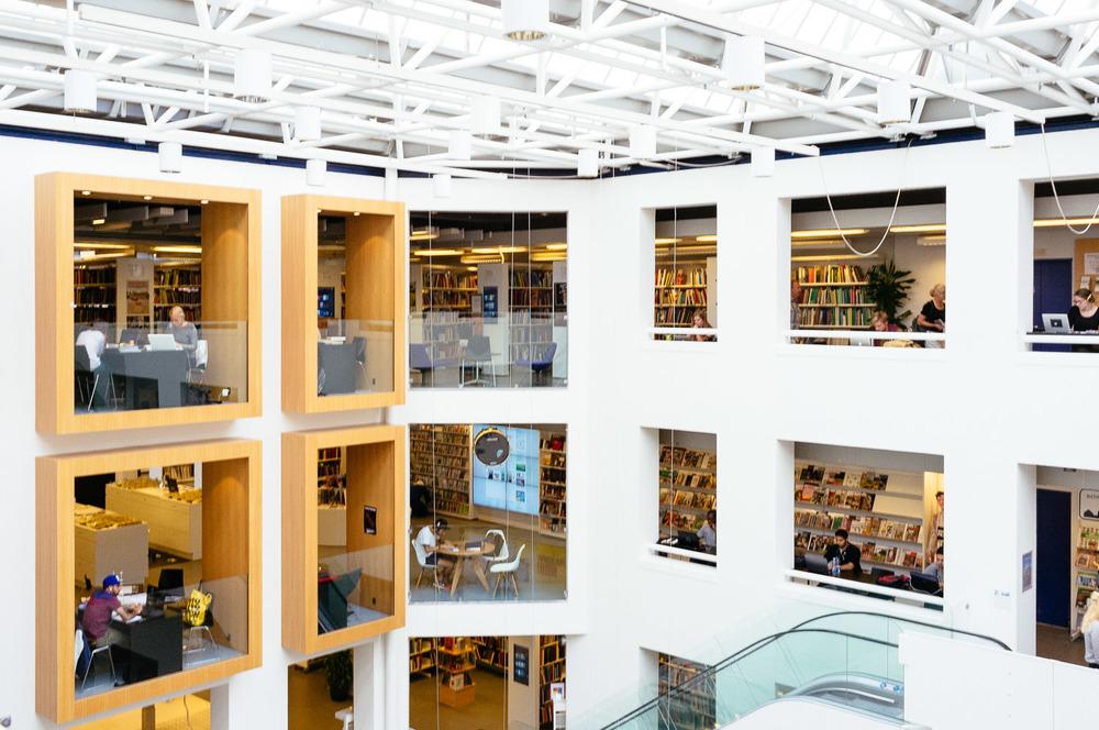 Hovedbiblioteket main library, Copenhagen