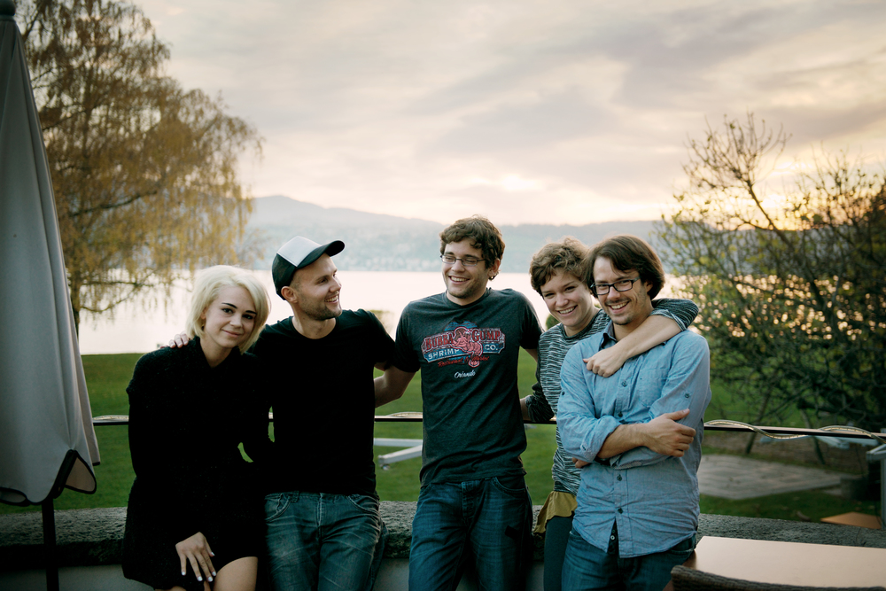 From left to right: Rykka, Timothy Jaromir, Jerome, Corinne and me.