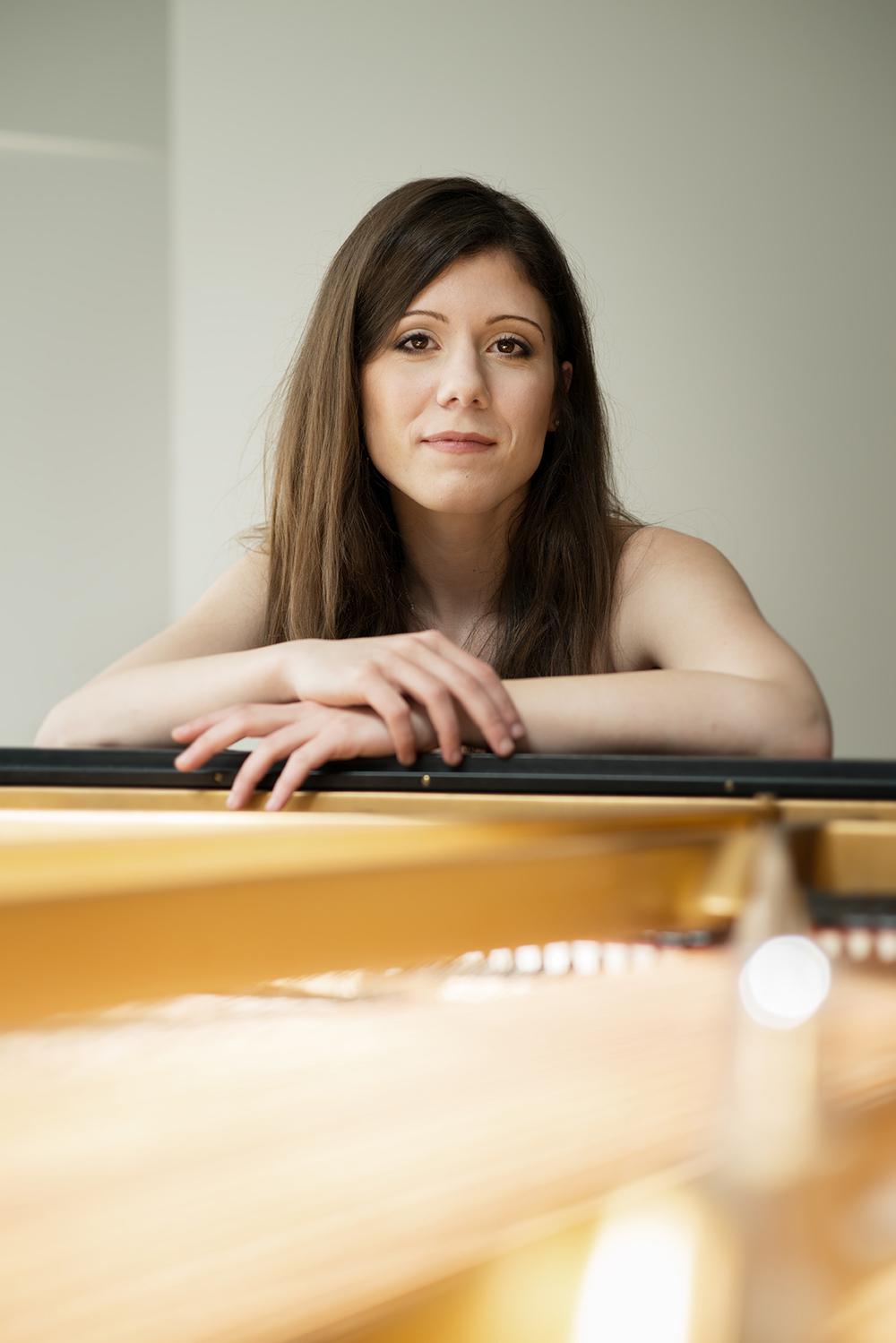 Georgiana Pletea, Pianist, Basel 2016