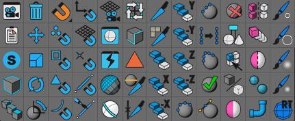 HB ModellingBundle Icons