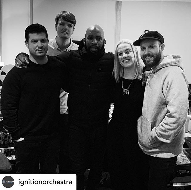 It was a lot of fun to have this talented bunch in the studio! Keep your eyes peeled for what's coming, it's going to be amazing 👏👏