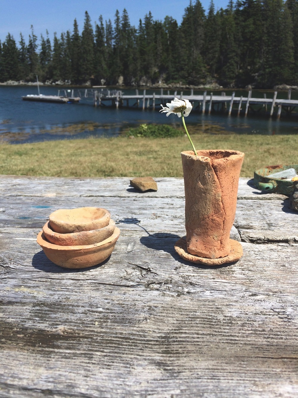 Island Clay Experiments with Camden Clay Co.