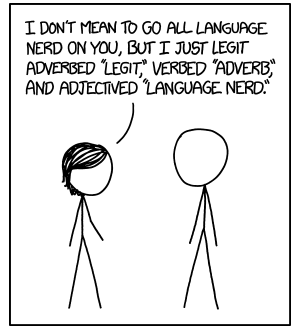 Courtesy of http://xkcd.com   Which of the 5 themes do you need to master to understand this comic?