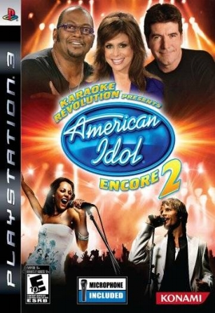 2008 Karaoke Revolution - American Idol Black Hole Sun