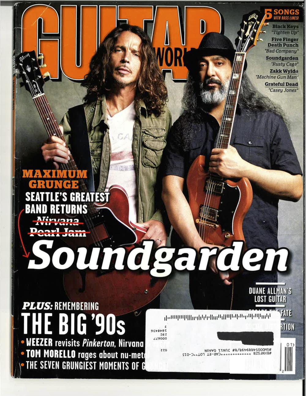 Guitar World   January 2011