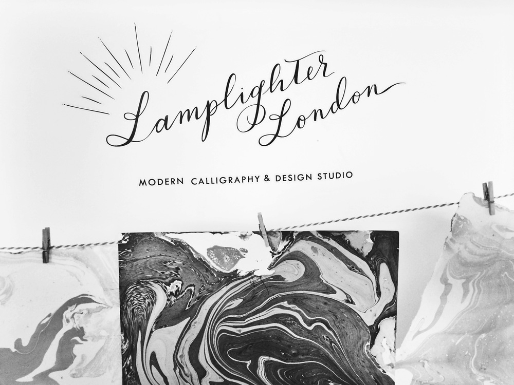 Lamplighter London | Modern Calligraphy & Design Studio