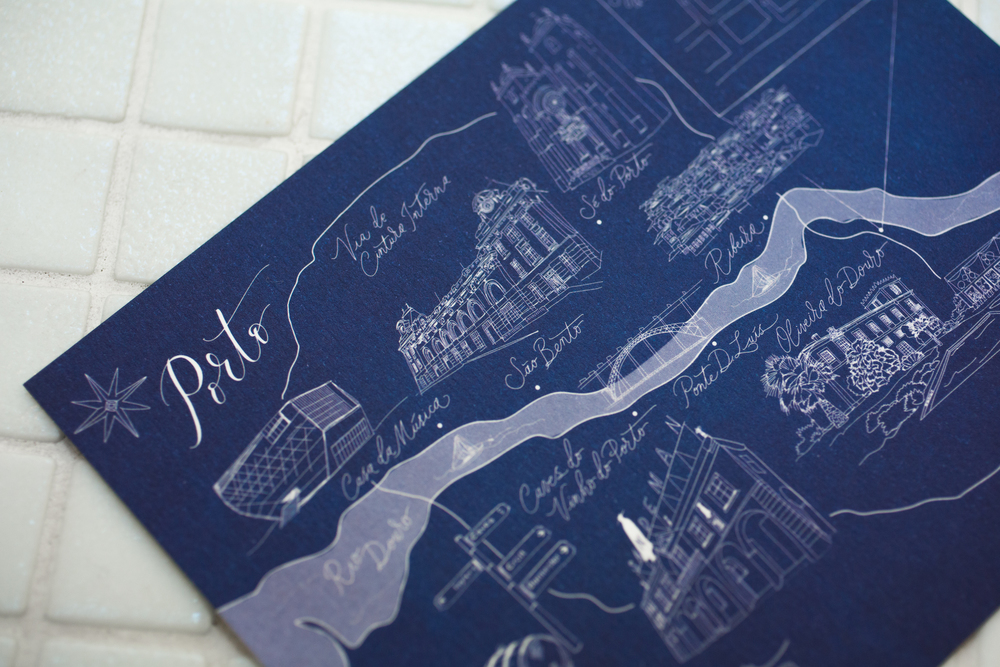 Lamplighter London Maps + Illustration