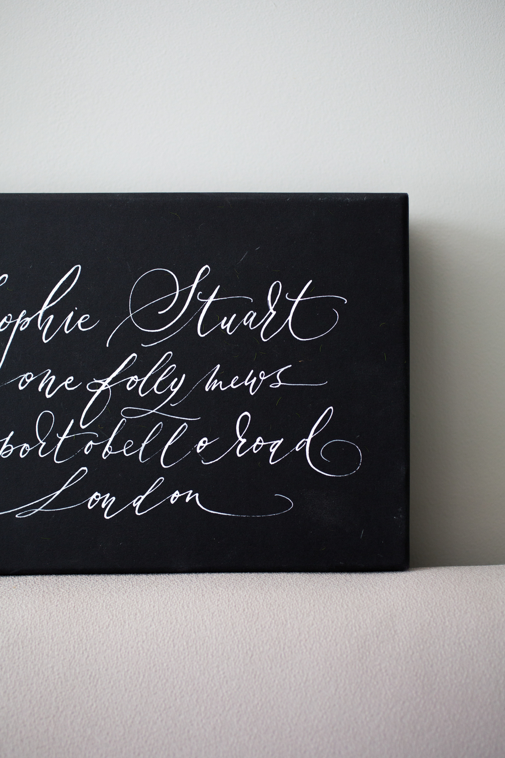 Lamplighter London Modern Calligraphy