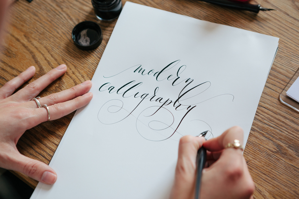 Modern Calligraphy Workshop Lamplighter London