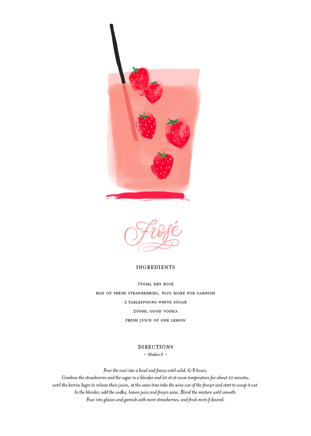 Lamplighter London Frose Recipe