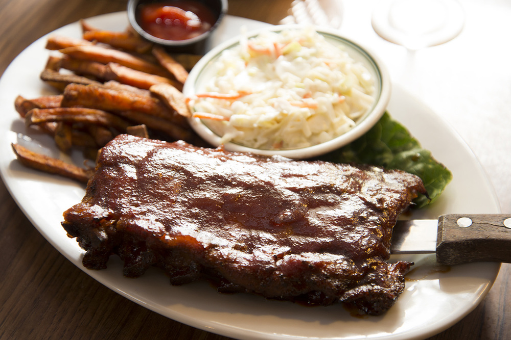 The Log Cabin Ribs