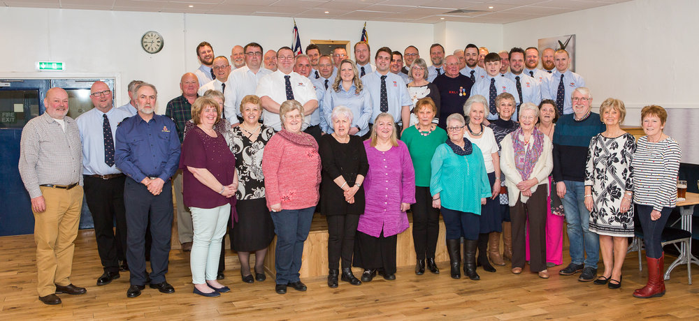 Dunbar's lifeboat crew, fundraisers, shop and committee volunteers.  (Photo: Nick Mailer)