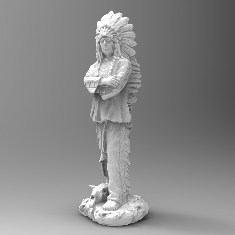 Sculpture 3D scan demo download