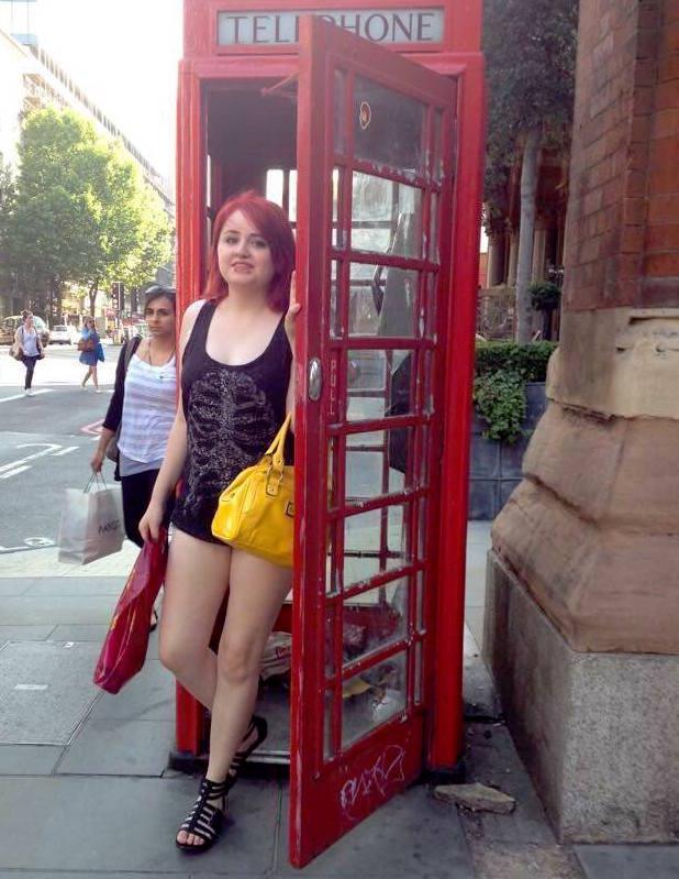 Jessica in London.