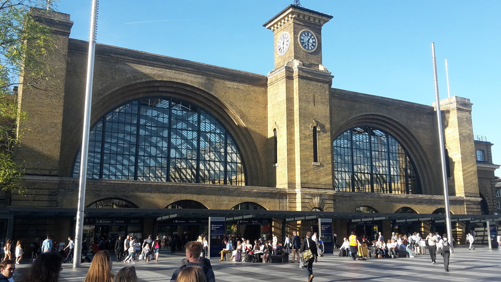 Kings Cross St Pancras Station (photo by Alexander Rose).
