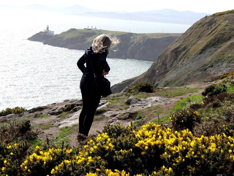 Country Manager Maya Machova exploring the County Dublin coast
