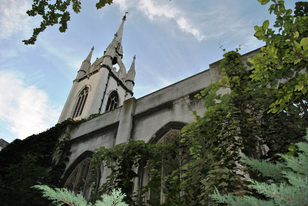 St Dunstan-in-the-East (photo: Elisa Rolle)